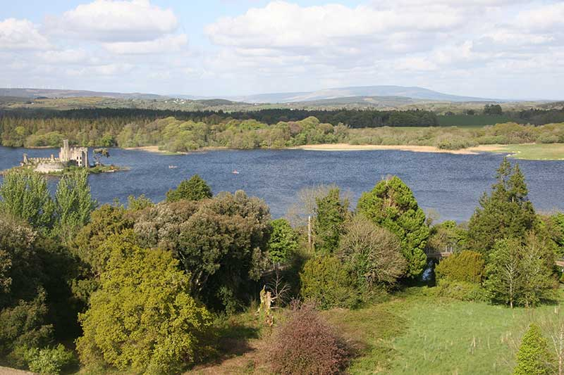 castle island in lough key forest park